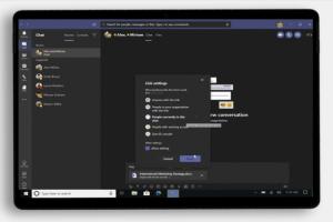 Microsoft OneDrive noue une étroite collaboration avec Teams
