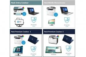 HP package ses produits pour des offres home office