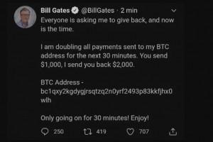 Twitter massivement piraté : plus de 100 000 $ en bitcoin détournés