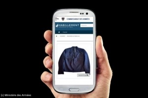 Une app pour permettre aux militaires de faire leur shopping
