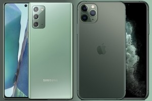 Samsung Galaxy Note 20 vs iPhone 11 Pro : la bataille des g�ants