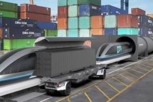 HTT entre au capital du Français Gaussin pour concevoir un Hyperloop du fret