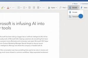 Telex : Word supporte la transcription audio, Salesforce pousse Exxon hors du Dow Jones, La Maison Blanche investit dans l'IA et le quantique