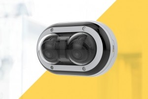 Axis sort une caméra de surveillance à deux têtes indépendantes