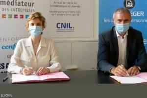 La Cnil s'associe avec le médiateur des entreprises sur le RGPD