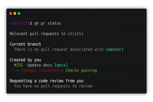 GitHub CLI atteint le statut de version 1.0