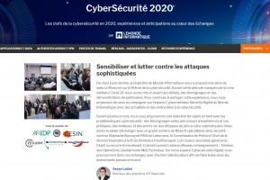 Les Cybermatin�es S�curit� 2020 reviennent en version digitale