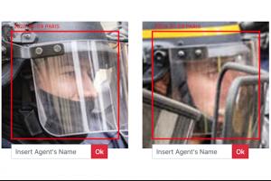Reconnaissance faciale : Un artiste veut identifier 4 000 visages de policiers