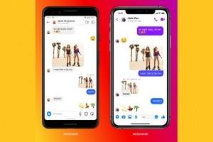 Facebook rapproche Messenger et la messagerie d'Instagram