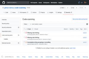 GitHub scanne le code � la recherche de failles