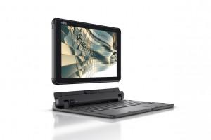 Une tablette Fujitsu Stylistic résistante à l'eau et la poussière