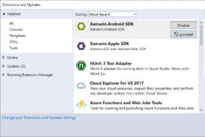 Microsoft revoit le mod�le d'extensions de Visual Studio