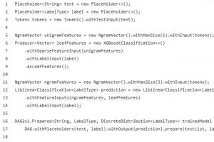 Avec Dagli, Linkedin fait une place � Java dans le machine learning