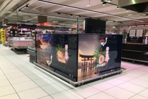 Sushiman couvre ses kiosques en 4G avec Icow