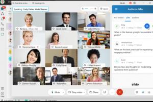 Avec Slido, Cisco accroit l'engagement dans les webonf�rences