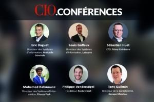Webconf�rence CIO applications m�tiers : Les responsables IT de Mutuelle G�n�rale, R�my Cointreau et Labeyrie Fine Foods t�moignent