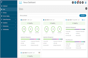 Cisco int�gre Data Center Network Manager � Nexus Dashboard