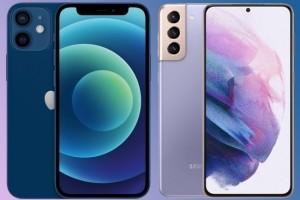 Samsung Galaxy S21 vs iPhone 12 : une bataille serr�e