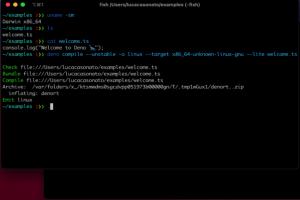 Deno 1.7 apporte des am�liorations � la compilation