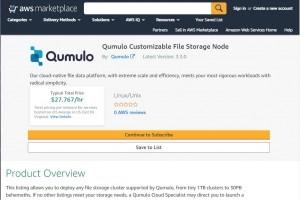 Qumulo �tend son offre Cloud Q sur AWS