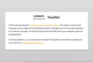 Querelle entre Proofpoint et Facebook sur des domaines pour tests de phishing
