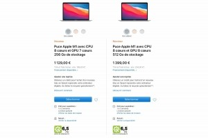 Apple affiche l'indice de r�parabilit� de ses iPhone et Mac en France