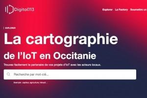 Une cartographie de l'IoT en Occitanie