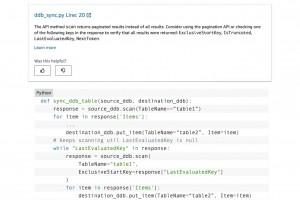 AWS r�vise le code Python dans CodeGuru