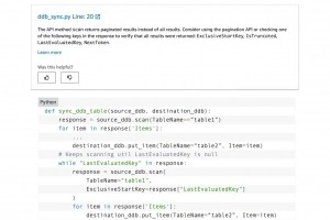 AWS révise le code Python dans CodeGuru