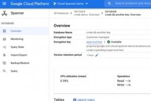 Google muscle les capacit�s de chiffrement de Cloud Spanner