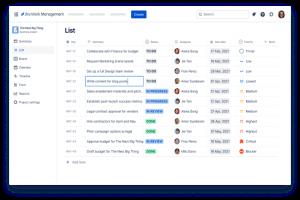 Avec Jira Work Management, Atlassian ouvre sa plateforme aux m�tiers