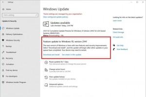 La MAJ mineure de Windows 10, 21H1, est pr�te