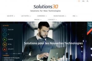 Descente aux enfers pour Solutions 30