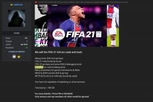 Electronic Arts pirat�, le code source de Fifa 21 d�rob�