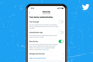 Twitter mise sur les cl�s de s�curit� pour prot�ger les comptes