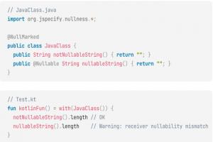 Kotlin 1.5.20 am�liore le d�veloppement Java