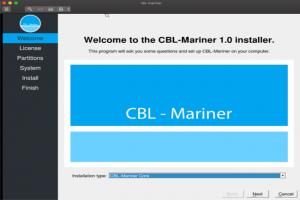 CBL-Mariner, la distribution Linux interne � Microsoft