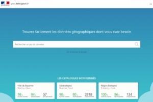 La Dinum d�branche le site geo.data.gouv.fr