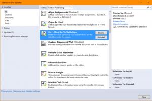 Productivity Power Tools : des extensions pour l'IDE Visual Studio 2022