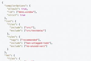 Deno 1.14 �toffe son API Crypto Web