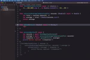 Swift 5.5 se concentre sur la programmation concurrente