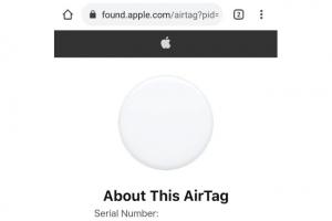 Risque de phishing suite � un bug dans l'Apple AirTag