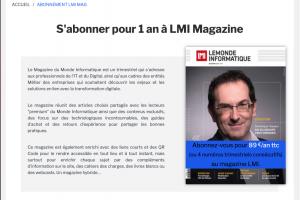Abonnez-vous � LMi Magazine