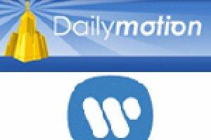 Warner music s'associe avec Dailymotion