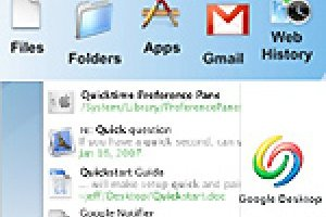 Google inaugure Google Desktop pour Mac