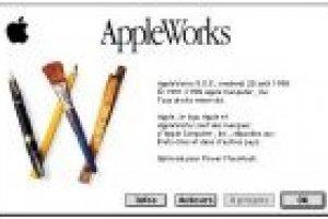 Suites bureautiques : AppleWorks, c'est fini !