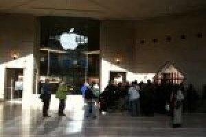 Le 1er Apple Store français ouvre ses portes au Louvre