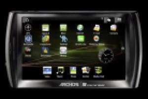 La tablette Archos 5 se connecte au réseau 3G