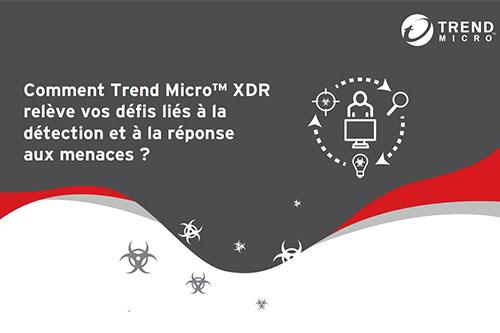 Comment Trend MicroTM XDR relève les défis liés à la détection et à la réponse aux menaces ?