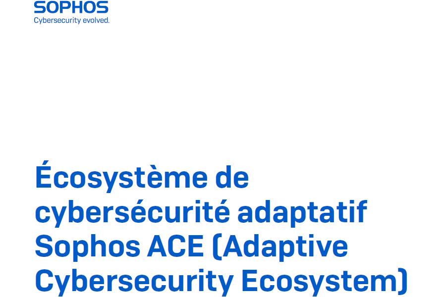 Optimiser la pr�vention, la d�tection et la r�ponse aux menaces : L'�cosyst�me de cybers�curit� adaptatif